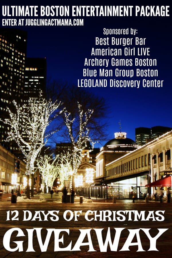 Ultimate Boston Entertainingment Package Giveaway