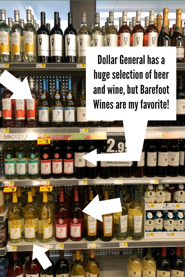 Wine at Dollar General