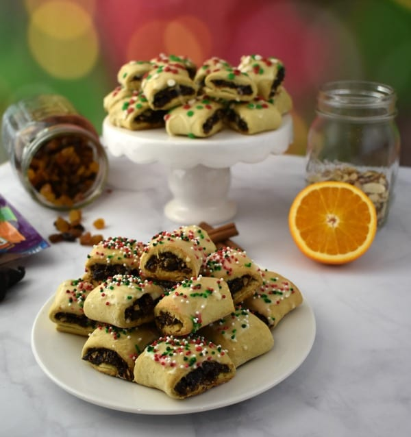 Italian Fig Cookies for Christmas