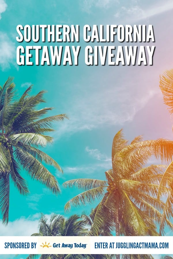 Southern California Getaway #Giveaway