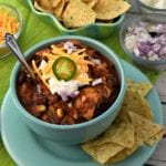 Amazing Slow Cooker Chicken Chili
