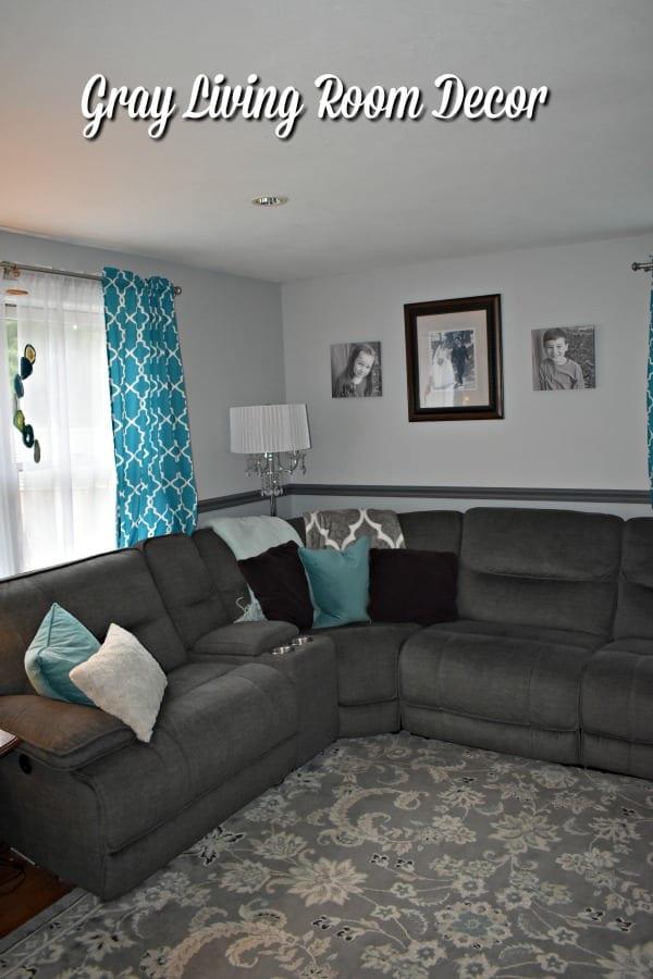 Gray Living Room Remodel