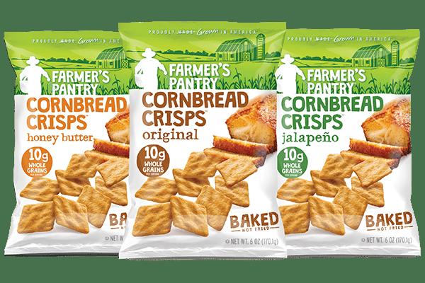 Farmer's Pantry Cornbread Crisps