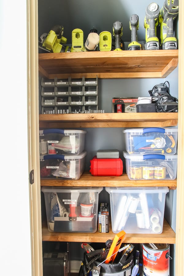 organize your home tools