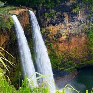 Amazing Wailua Falls Kauai