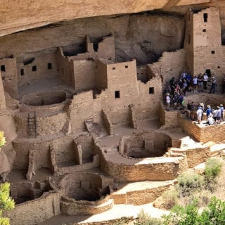 Puebloan Ruins Mesa Verde National Park Colorado