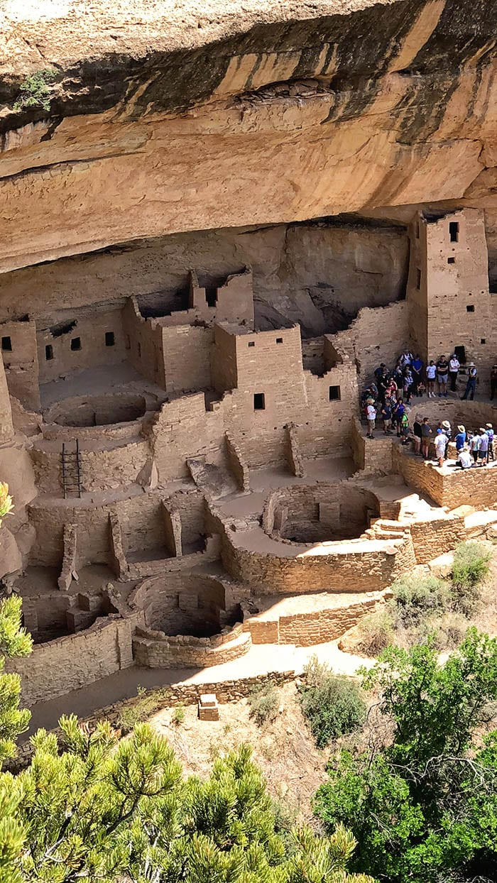 Located in the four corners region - Southwest Colorado, this National Park preserves the man-made dwellings of the Ancestral Puebloans. It's an amazing opportunity to view and tour the ancient ruins and walk in the steps of these mysterious people. via @jugglingactmama