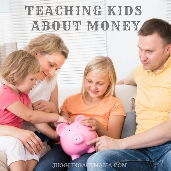 Parents talking to kids about money