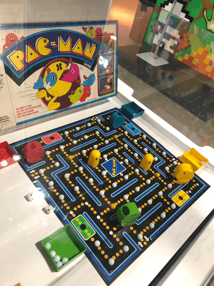 Vintage Pac Man Game