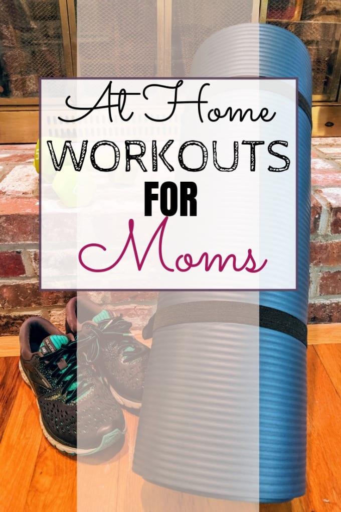 At Home Workouts for Moms via @jugglingactmama