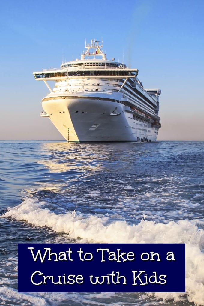 Looking for tips on what to take on a cruise with kids? We have all the essentials below to help you figure out what you need to bring. via @jugglingactmama