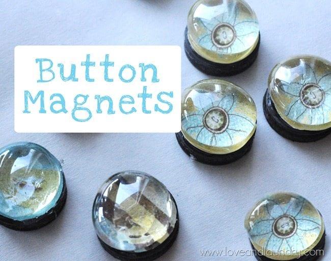 DIY Glass Magnets