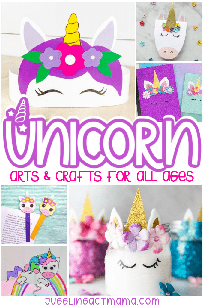 Unicorn Arts and Crafts collage
