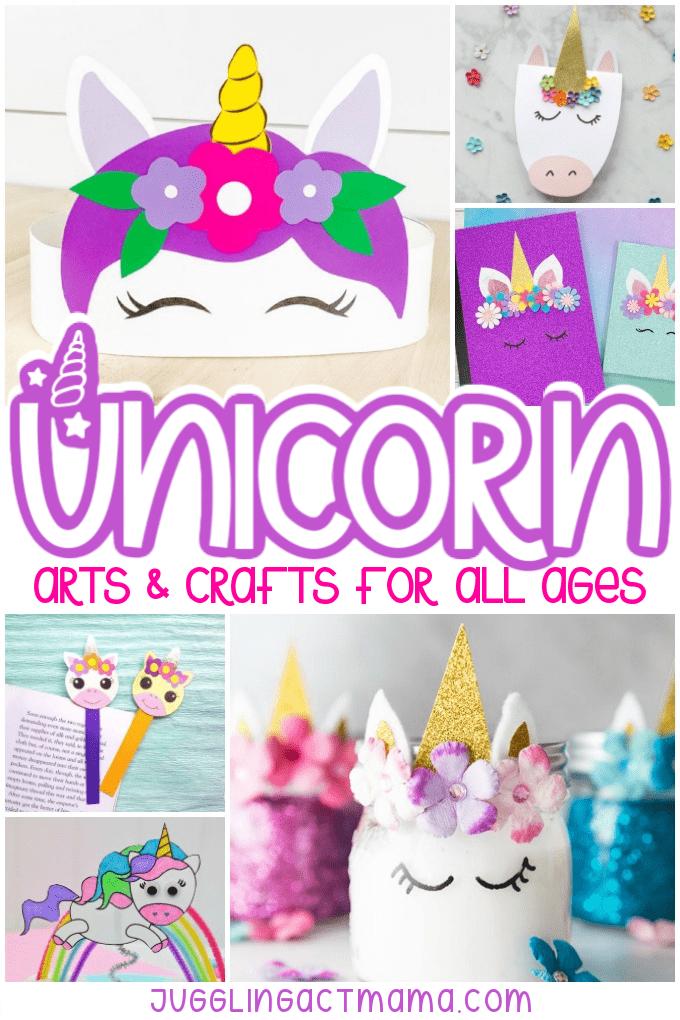 Unicorn Arts and Crafts collage