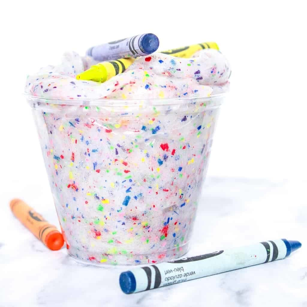 Crayon Slime from Crayons and Cravings