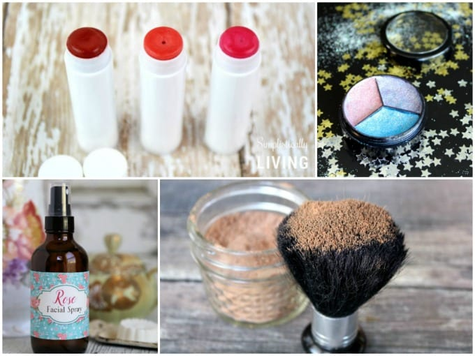 DIY Beauty Products collage image