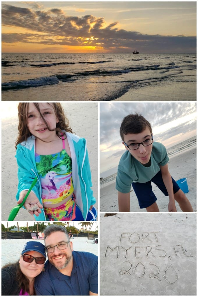 What to do in Fort Myers Florida beach collage