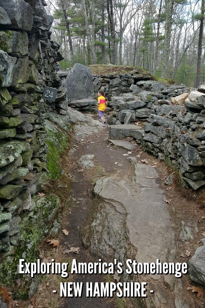 Exploring America's Stonehenge in  New Hampshire