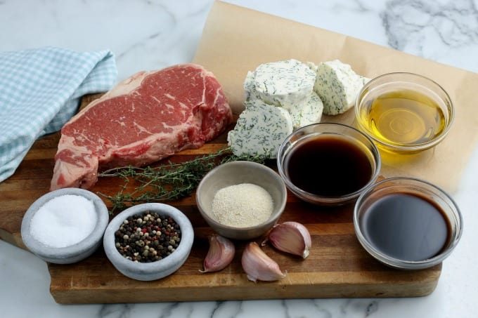 ingredients for Steak Bites