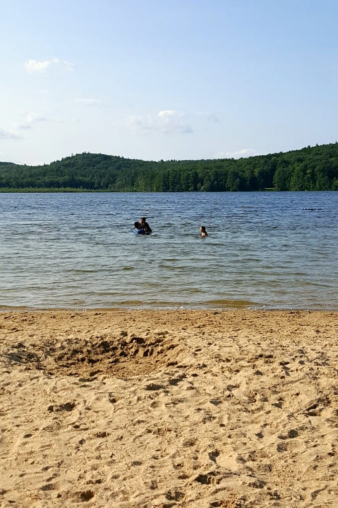 It's worth the drive to go visit quiet Greenfield State Park NH Spend the day swimming in Otter Lake or enjoy one of the other activities. You'll love this peaceful spot. via @jugglingactmama