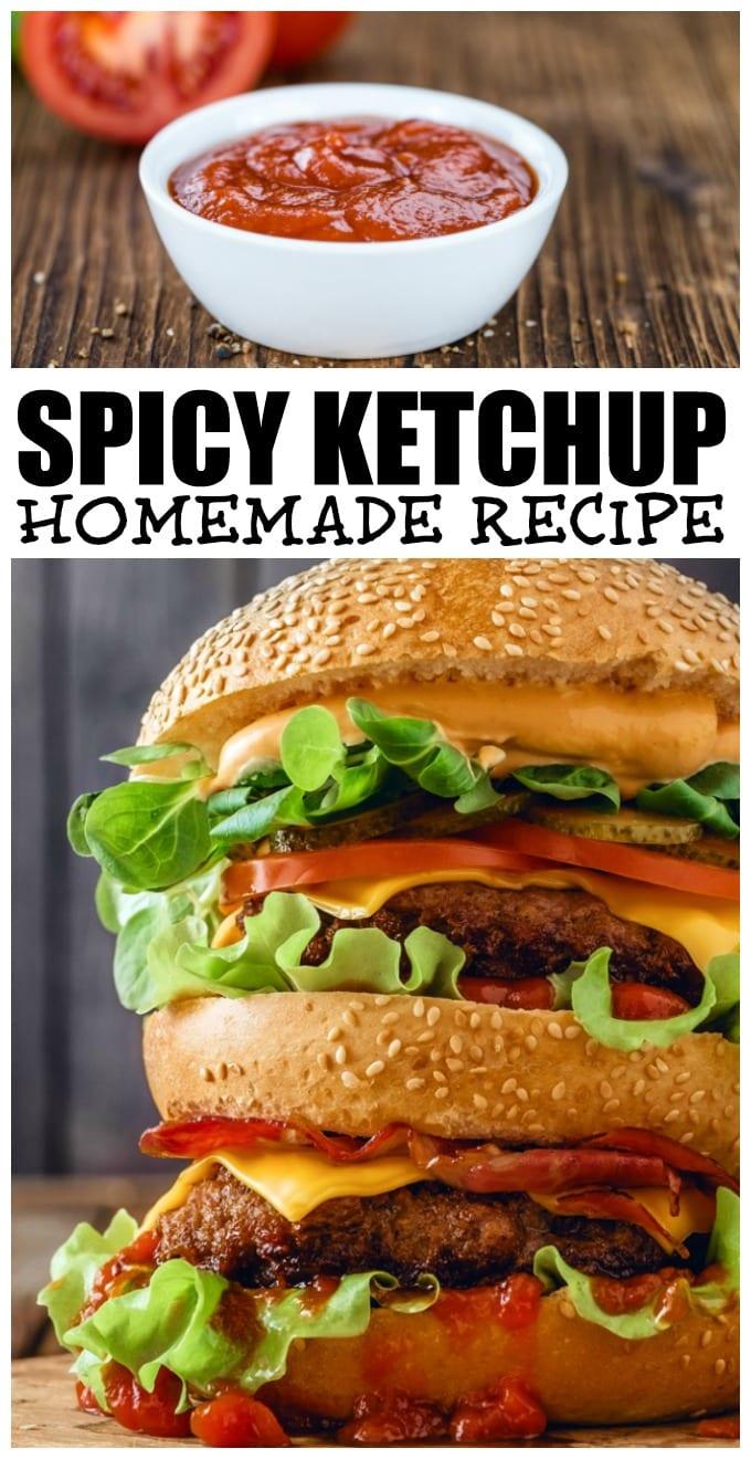 Spicy Ketchup Recipe via @jugglingactmama
