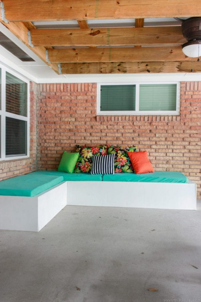 Outdoor Couch from Amber Oliver