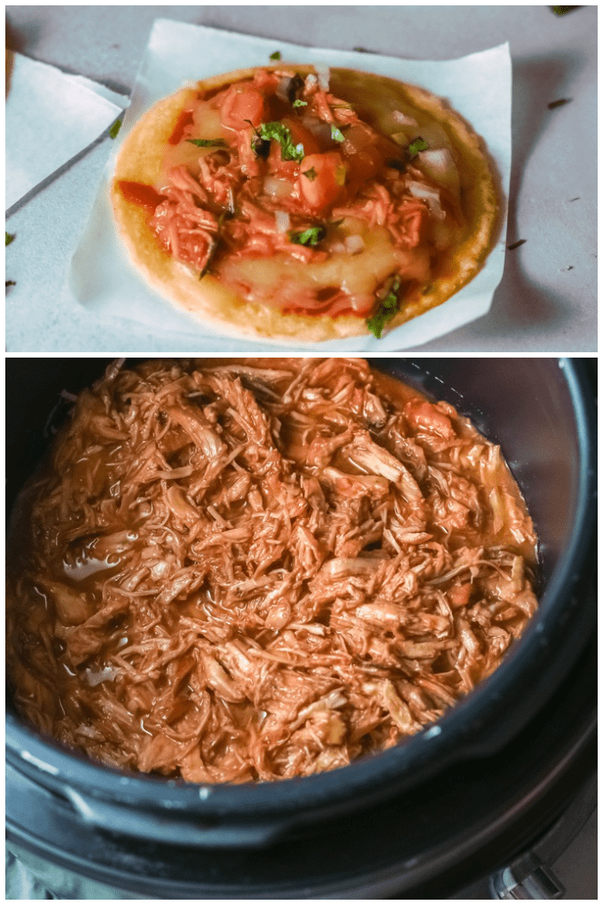 My Crockpot Barbecue Chicken recipe is easy and delicious. Low and slow flavor without much work! Your family will love it. via @jugglingactmama