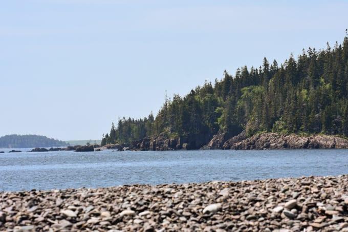 Landscape photo of Jasper Beach in Maine