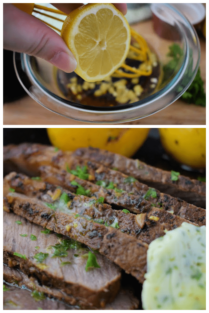 This Easy Steak Marinade uses pantry ingredients and just a few minutes of prep time to create a delicious marinade for any steak. via @jugglingactmama