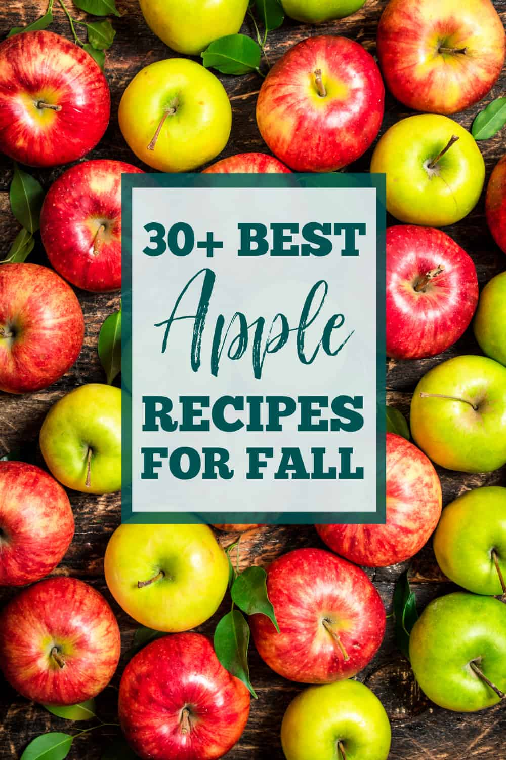 Whether you love classic granny smith apples, or you're a fan of new varieties like pink lady apples. we have more than 40 of the best apple recipes for you to enjoy this Fall. via @jugglingactmama